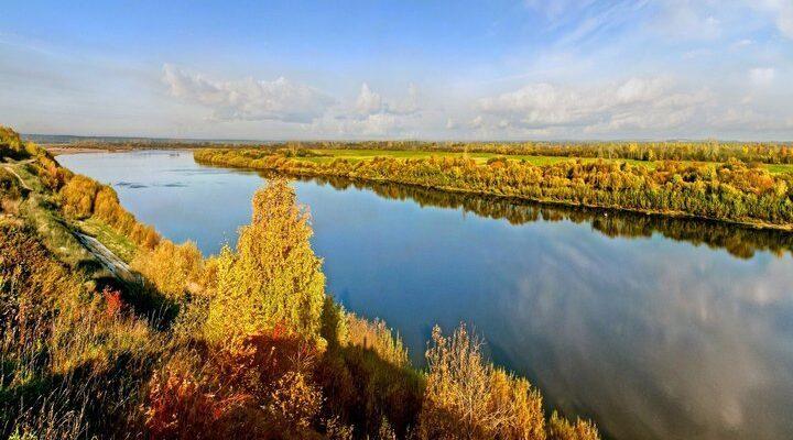 Река Вятка, фото