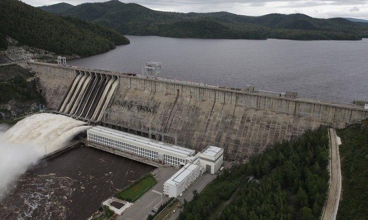 Зейская ГЭС, фото