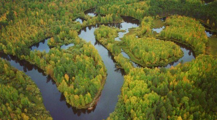 Река Конда, фото