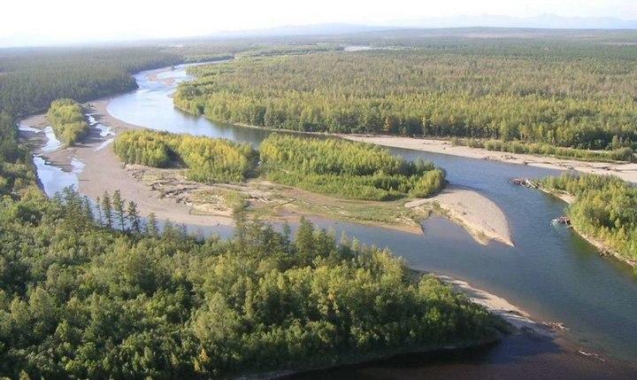 Река Омолон, фото