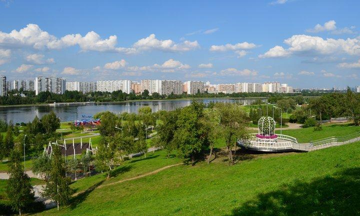 Братеевский каскадный парк, фото