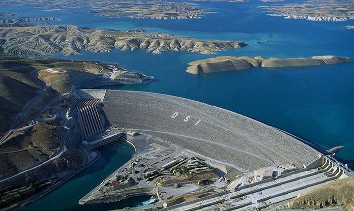 ГЭС Ататюрк-Баражи, фото