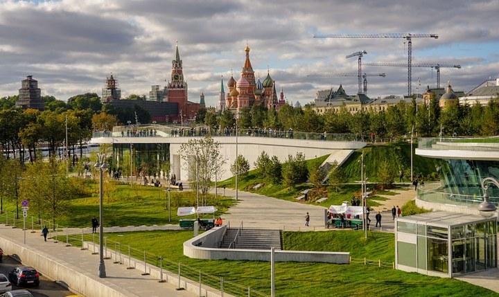 Парк отдыха и развлечений «Зарядье», фото