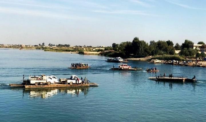 Переправа через реку Евфрат, фото
