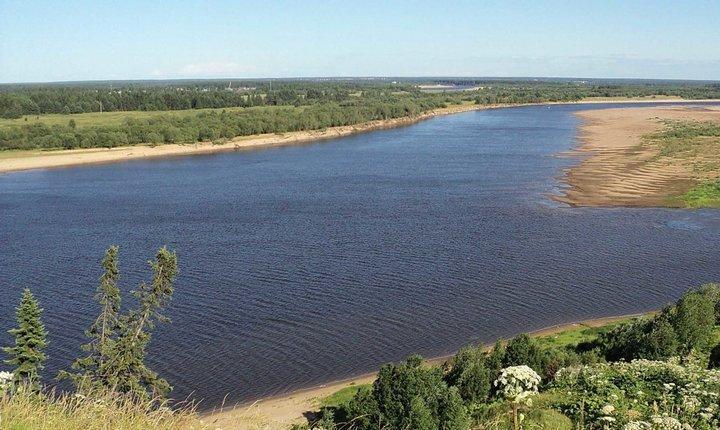 Река Вычегда, фото